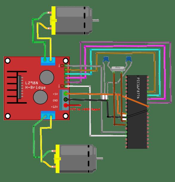L298n Wiring Diagram L298n Enable Jumpers Wire Diagrams