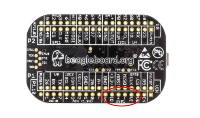 PocketBeagle USB Port