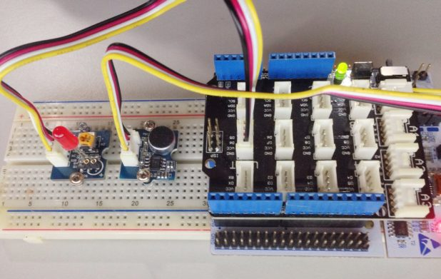 STM32 Nucleo Clap Switch