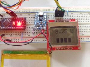 Arduino LiPo Battery Monitor | Teach Me Microcontrollers!