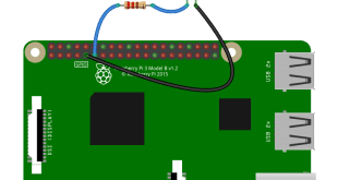 GPIO LED output example