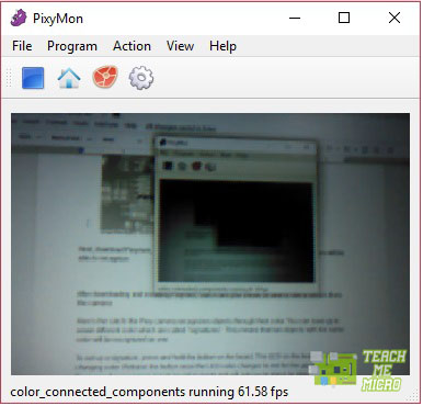 Pixymon video stream