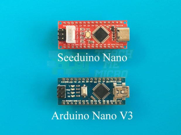 Seeeduino Nano vs Arduino Nano