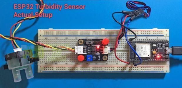 ESP32 Turbidity Sensor