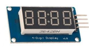 TM1637 4 digit seven segment display module