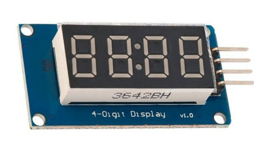 TM1637 4 digit seven segment display module