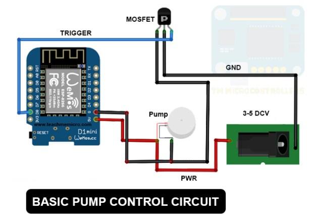 arduino water pump