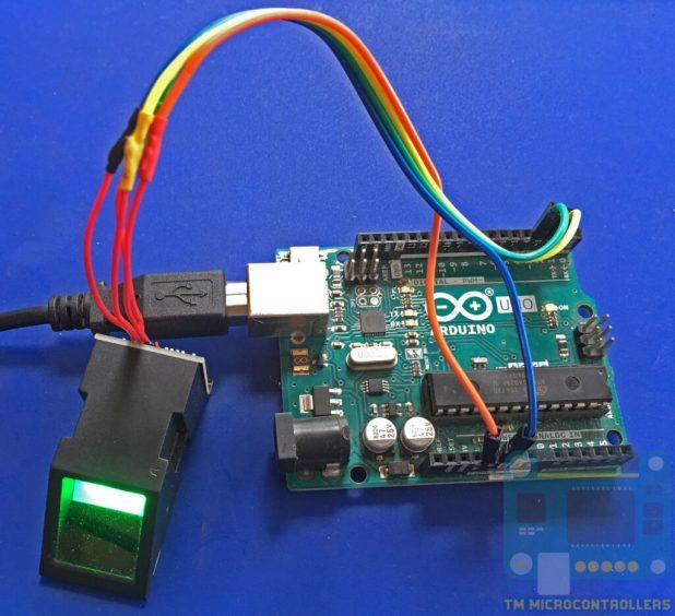 Sensor attached to Arduino UNO