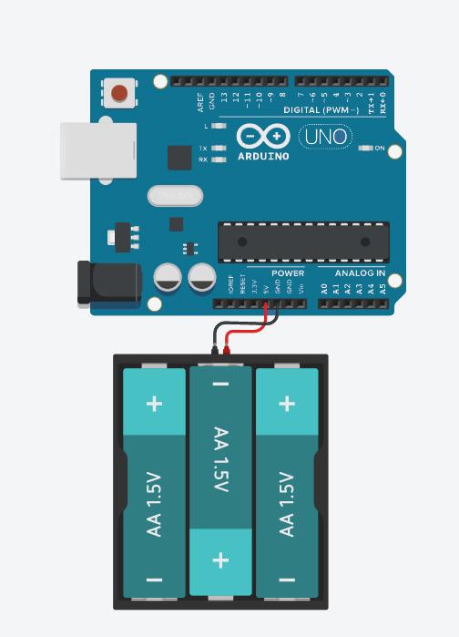 Arduino power to 5V pin