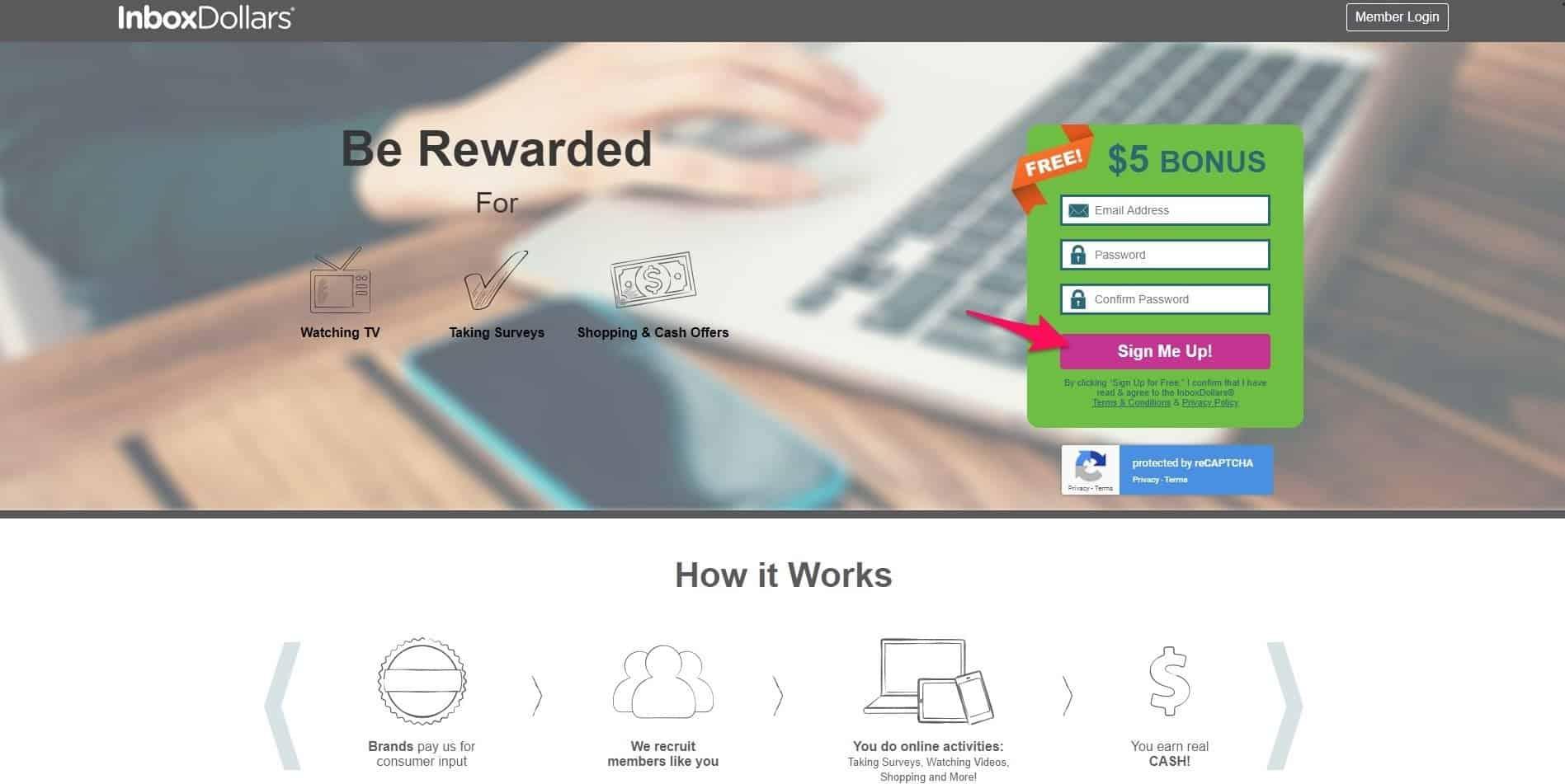 inboxdollars login for online surveys
