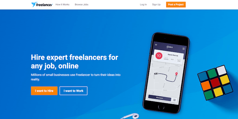 Freelancer Best Freelance Websites