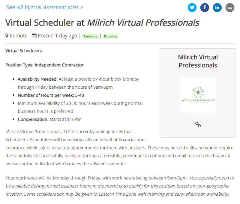 virtual assistant remote.co