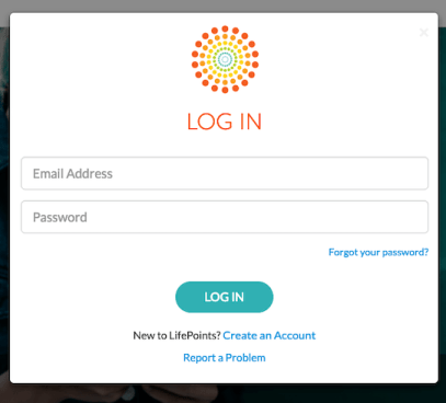 LifePoints Login