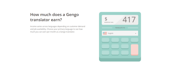 Gengo calculator