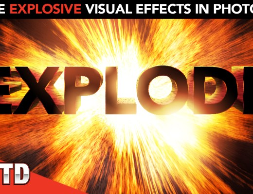 Create visual effects from scratch in Photoshop.