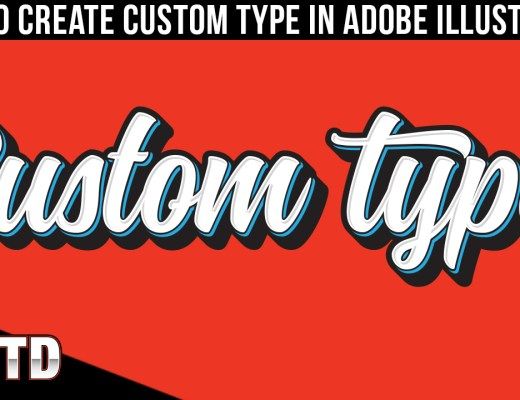 Learn how to create custom type in Illustrator!