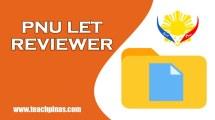 PNU LET Reviewer pdf