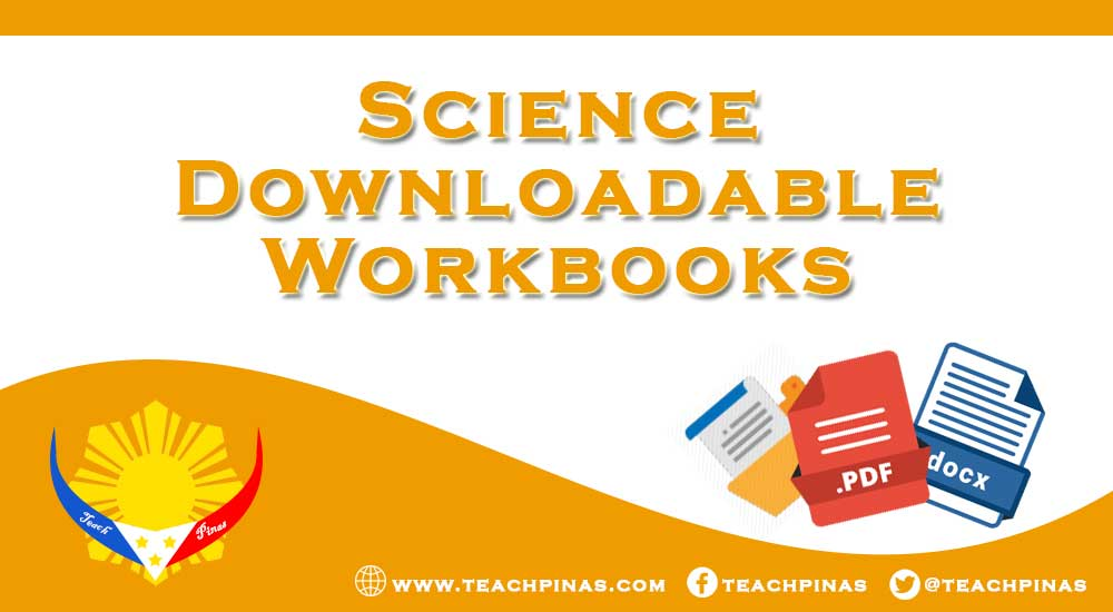 Science Downloadable Activity Workbooks