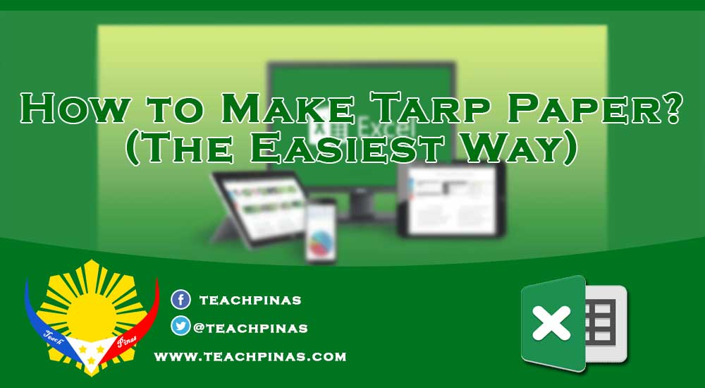 How to make tarpapel or tarp papel