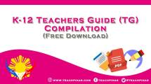 K-12 Teacher's Guide TG Compilation