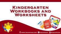 Kindergarten Workbooks and Worksheets