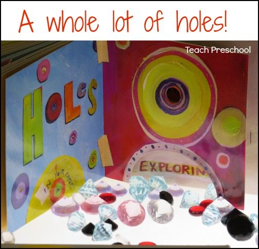 A whole lot of holes!