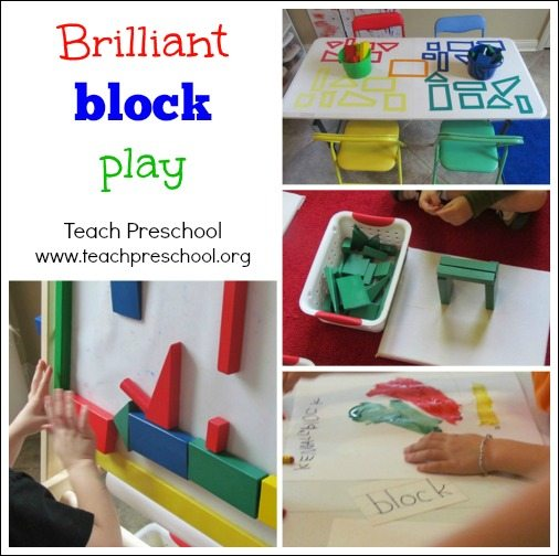 Brilliant block play