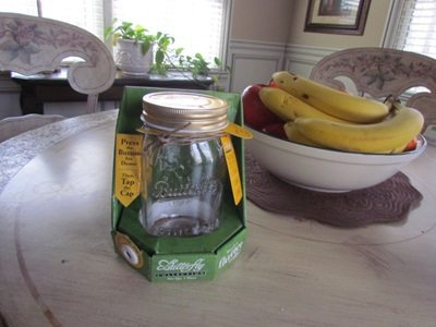 In the Mailbox: butterfly jar