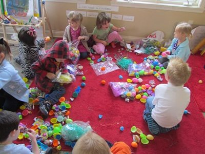 Planning for more than just an Easter egg hunt in preschool
