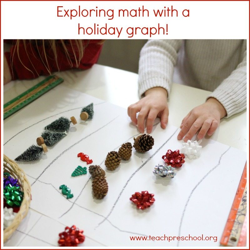 Exploring math with a holiday graph in pre-k