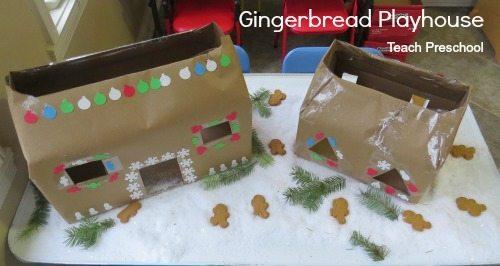 Gingerbread man playhouse
