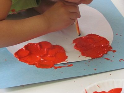 Making the art process easier isn't always the right choice in preschool