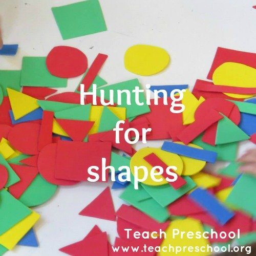 Hunting for shapes