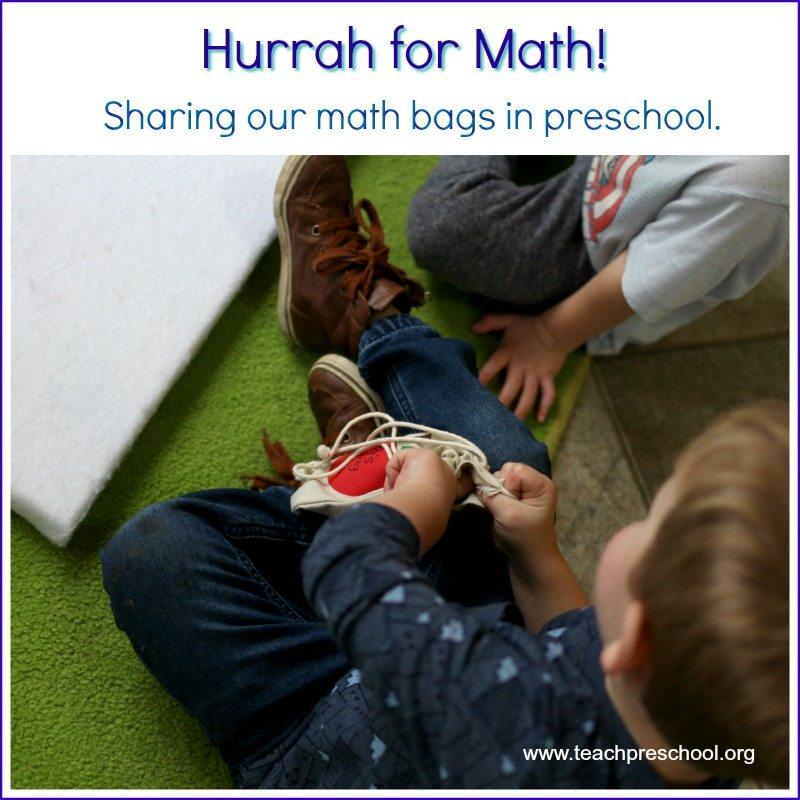Hurrah for math in preschool!