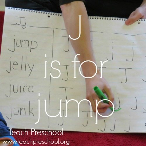 J is for jump