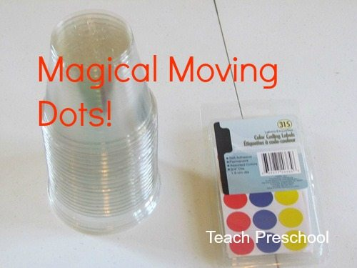 Magical moving dots