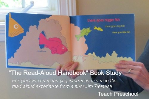 Managing interruptions during the read-aloud experience