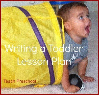 TODDLER lesson plan tidbits