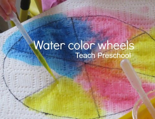 Water color wheels