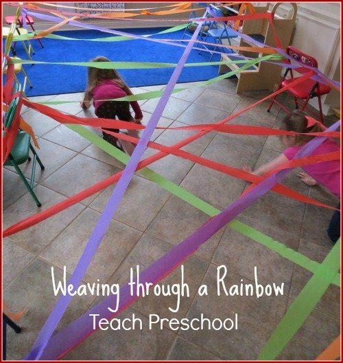 Weaving through a rainbow