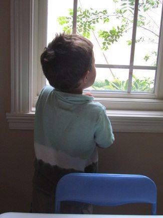 Wonderful windows in preschool