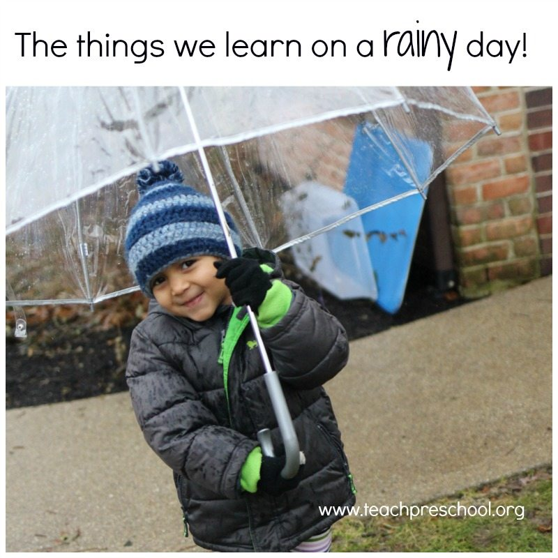 Things we learn on a rainy day!