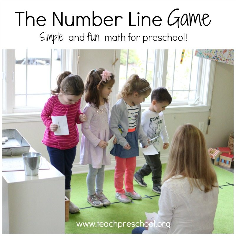 The number line game!