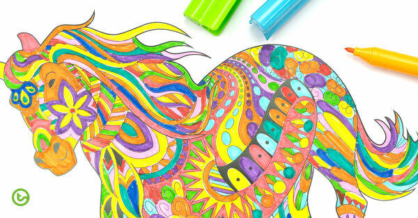 New Mindful Colouring Pages