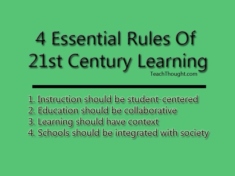 4-essential-rules-for-21st-century-learning