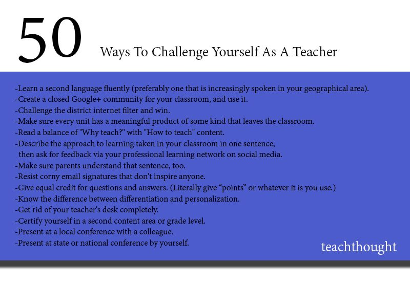 50-ways-to-challenge-yourself-as-a-teacher-fi