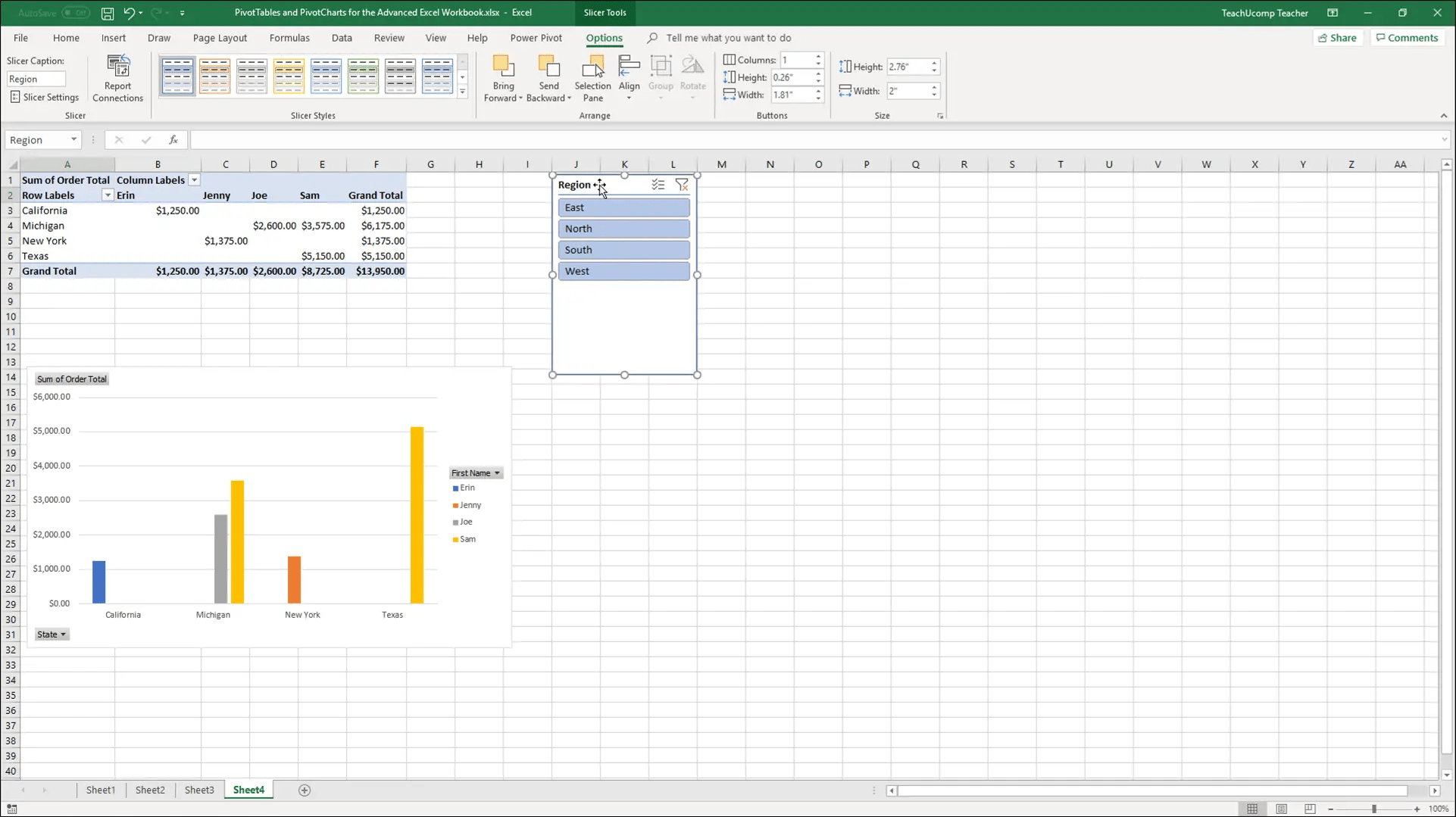Insert Slicers And Delete Slicers In Excel Instructions