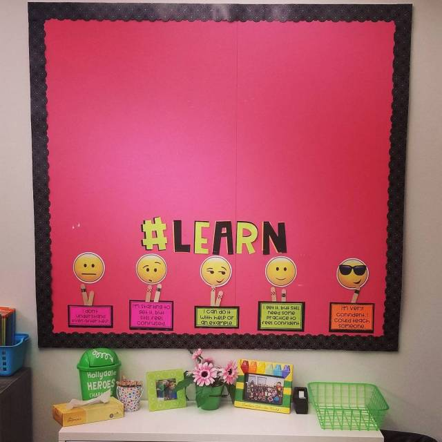 Ready to put this bulletin board to use Each littlehellip