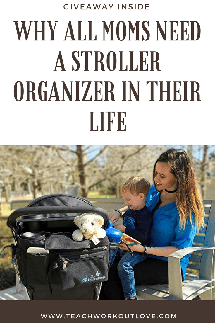 Why All Moms Need a Stroller Organizer in Their Life {And Giveaway!}