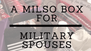 Photo of A MiLSO Box for Military Spouses